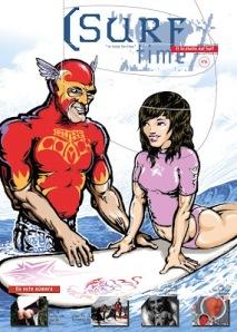 portada de la revista Surf Time, fundada i dirigida per Esteve Rosés
