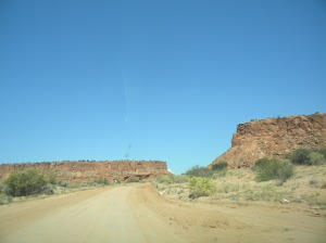 el desierto que rodea Albuquerque